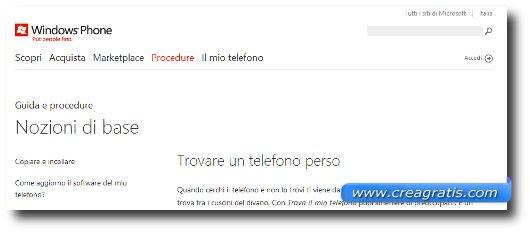 Come rintracciare un cellulare Windows Phone 7