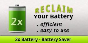 Immagine dell'applicazione 2x Battery - Battery Saver