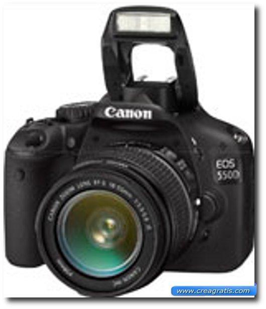 Immagine della fotocamera DSLR Canon EOS 550D