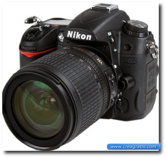 Immagine della fotocamera DSLR Nikon D7000