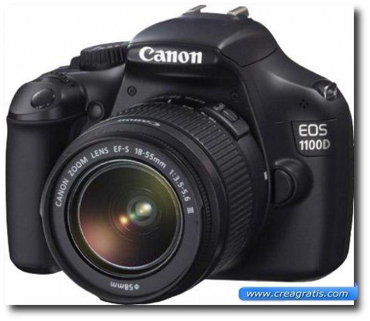 Immagine della fotocamera DSLR Canon EOS 1100D