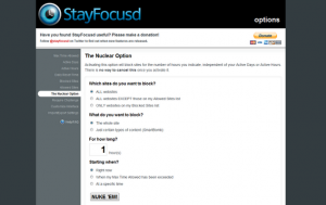Immagine dell'estensione StayFocusd per Chrome