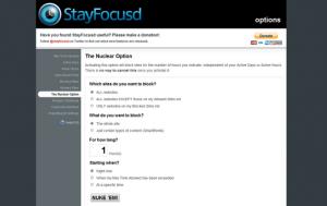 Immagine dell'estensione StayFocusd per Chrome