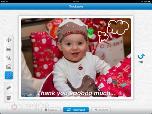 Immagine di Touchnote Postcards, App per fare foto su Android, iPhone e iPad