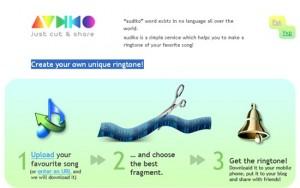 Interfaccia del nono sito per scaricare suonerie per iPhone gratis