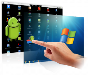 Primo software per usare Android su Windows