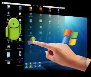 Primo software per usare Android su Windows