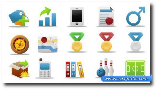 Immagine generica sulle icone da scaricare gratis