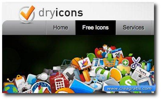 Terzo sito per scaricare icone gratis