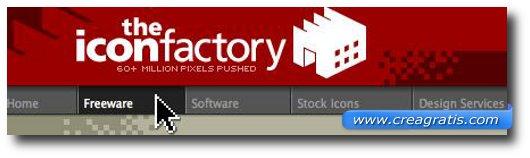 Ottavo sito per scaricare icone gratis
