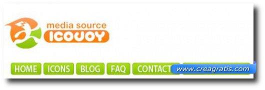 Decimo sito per scaricare icone gratis