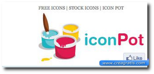 Tredicesimo sito per scaricare icone gratis