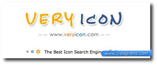 Quattordicesimo sito per scaricare icone gratis