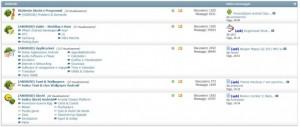 Interfaccia grafica del sito IPmart