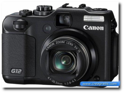 Immagine della fotocamera digitale Canon PowerShot G12
