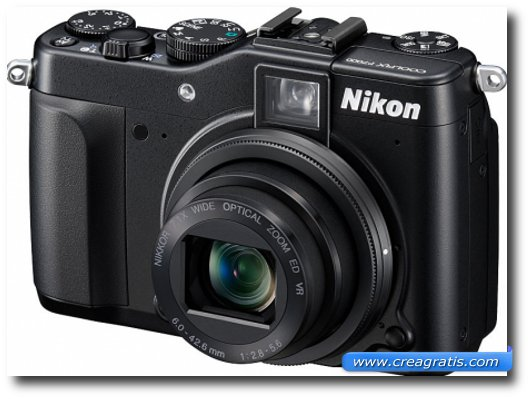 Immagine della fotocamera digitale Nikon P7000