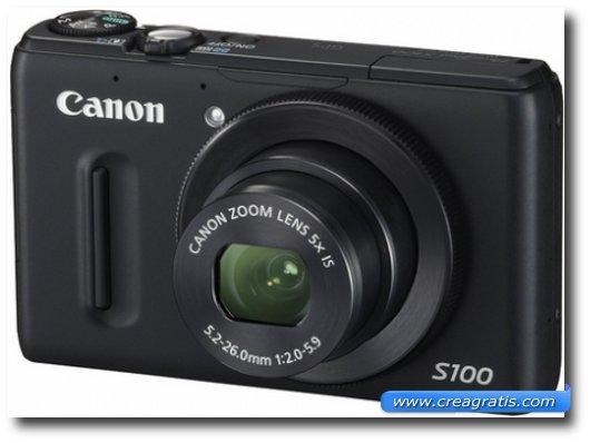 Immagine della fotocamera digitale Canon PowerShot S100
