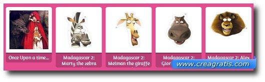 Immagine del sito Hellokids per trovare maschere di carnevale