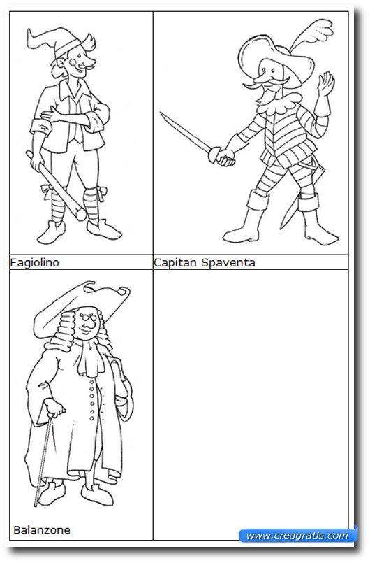 Immagine del sito CalShop per trovare maschere di carnevale