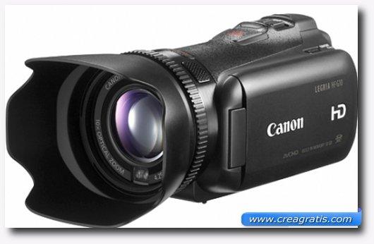 Immagine della Canon Legria HF G10