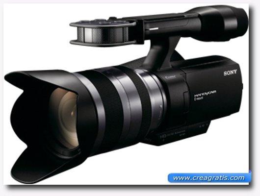 Immagine della Sony NEX-VG10