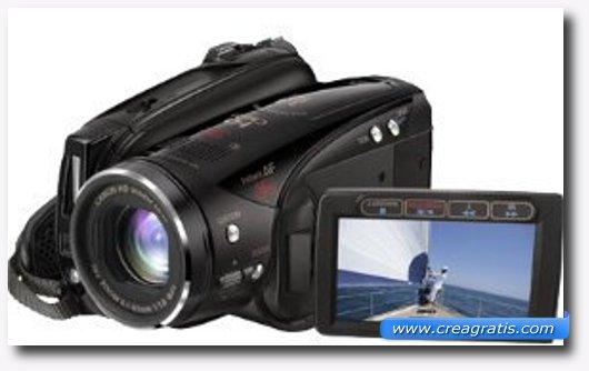 Immagine della Canon Legria HV40