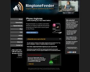 Interfaccia del quarto sito per scaricare suonerie per iPhone gratis