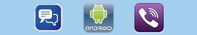 Applicazioni Android per telefonate e messaggi