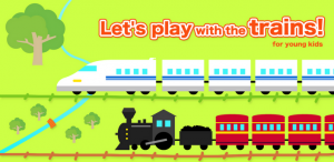 Immagine dell'app Happy trains! for young kids per Android