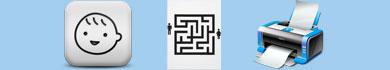 Labirinti da stampare per bambini dedicati all'estate