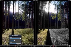 Applicazione di fotografia Masque per iPad