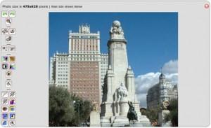 Immagine del sito Phixr per modificare foto online