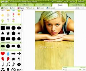 Immagine del sito PicNik per modificare foto online