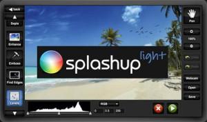 Immagine del sito Splashup per modificare foto online