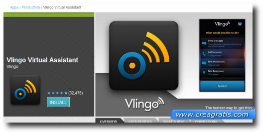 Immagine dell'applicaizone Vlingo Virtual Assistant per Android