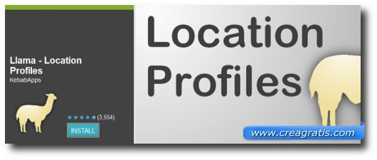 Immagine dell'applicazione Llama – Location Profiles per Android