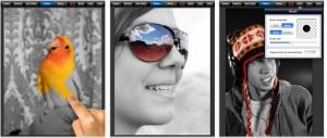 Applicazione di fotografia Color Splash per iPad