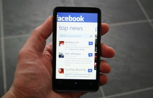 Immagine dell'applicazione FaceBook per Windows Phone 7