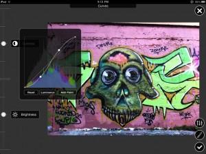 Applicazione di fotografia Filterstorm  per iPad