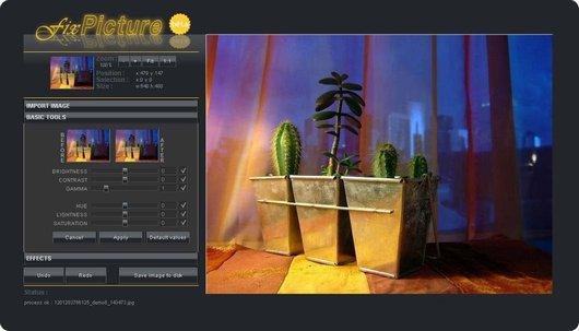 Immagine del sito FixPicture per modificare foto online