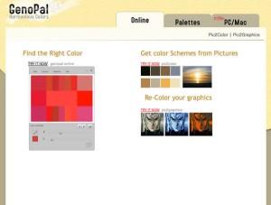 Immagine del sito Genopal per modificare foto online