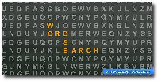 Immagine del gioco Word Search Unlimited per Android
