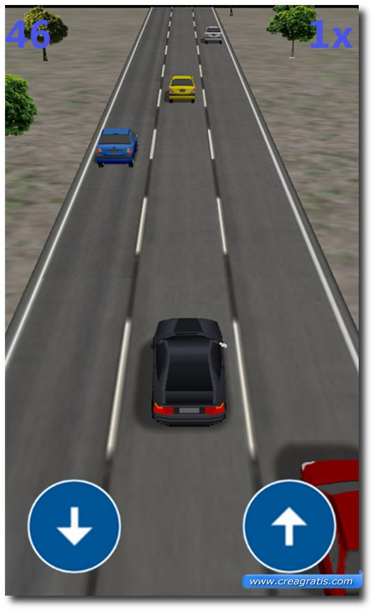 Immagine del gioco Traffic Race 3D per Windows Phone 7
