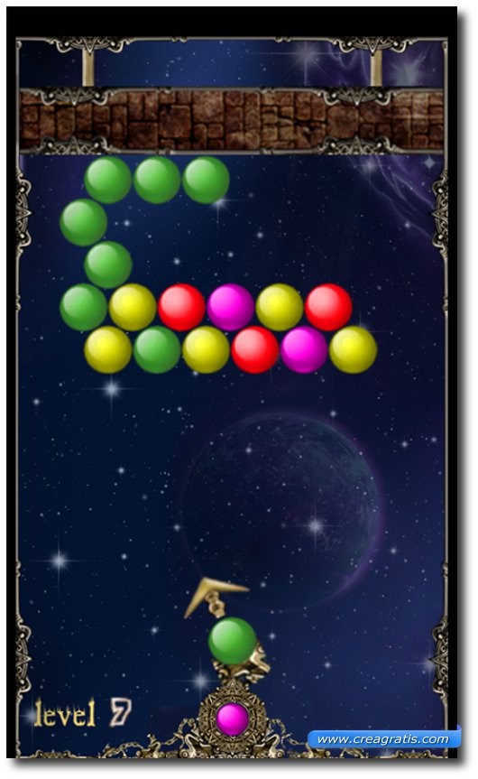 Immagine del gioco Bubble Shoot per Windows Phone 7
