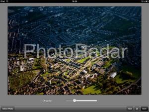 Applicazione di fotografia Impression per iPad