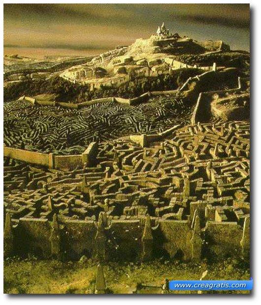 Immagine di un labirinto fantasioso