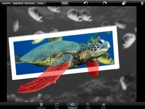Applicazione di fotografia OutColor per iPad
