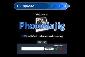 Immagine del sito PhotoMajig per modificare foto online