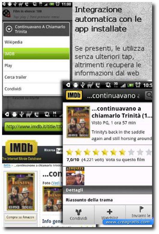 Immagine dell'applicazione Film On Line per Android