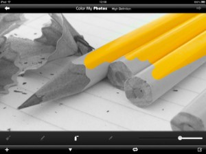 Immagine dell'app Color My Photos HD per iPad